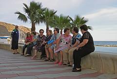 escenas de playa. Aguadulce. Almería. (Luis Mª) Tags: personas almería aguadulce escenasdelavida afiiae