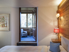 Veranda  Zimmer | Room (Chesa Salis Historic Hotel Engadin) Tags: 14 hotelchesasalisbever räume zimmer