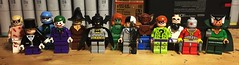 Vintage Stylings (LordAllo) Tags: lego batman dc classic vintage zsasz penguin joker mister freeze mr scarecrow poison ivy twoface deadshot hugo strange two face ras al ghul man bat manbat riddler 1970s 1980s