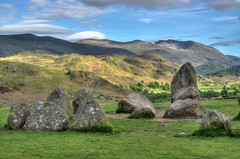 Castlerigg Stone Circle (part), Cumbria (Baz Richardson (now away until 6 August)) Tags: cumbria lakedistrict castleriggstonecircle neolithicmonuments henges