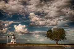 Port Clinton Lighthouse (Gaby Swanson, Photographer) Tags: lighthouse landscape ruralohio ohio naturephotography port clinton lakeerie