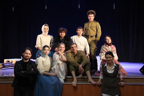 Молодежный театр Underground Одна абсолютно счастливая деревня (5)