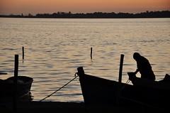coisas simples da vida... (Ruby Ferreira ®) Tags: araruamarj lagoon lagoadeararuama boats barcos pescador ripples forest floresta regiãodoslagosrj pôrdosol fisherman sunset sky céu silhuetas silhouettes