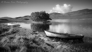 The Boats On Loch Awe