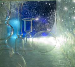 """Starry Starry Night"" (Elisafox22 slowly catching up ;o)) Tags: elisafox22 margeois hss sliderssunday glass orb bottles night nightsky stars starrystarrynight shapes abstract texture sliding postprocessing photomanipulation textures photoshop textured photomanipulated patterns elisaliddell©2017 stg"