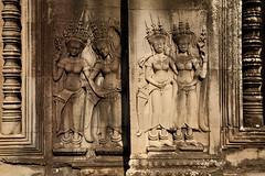 Asparas, Angkor Wat, Cambodia