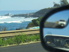 Same Expression,Maui (guavamusings) Tags: maui hawaii ocean surf waves toyota hookipa big surfer blue