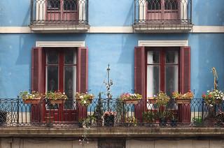A Spanish Balcony Garden