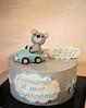 Christening Cake (Passione: Cupcakes!) Tags: christening cake christeningcake bearcake teddybear buttercream buttercreamcake tarta tartabautizo bautizo battesimo torta tortabattesimo