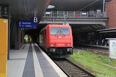 D-RHC Bombardier TRAXX #91 80 6185 604-6 (busdude) Tags: db bombardier traxx 91 80 6185 6046 drhc häfen und güterverkehr köln ag hgk class 185