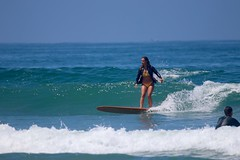 IMG_9414 (palbritton) Tags: surf surfing surfer ocean waves beach surfergirl sea