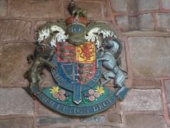 Royal arms (Granpic) Tags: staffordshire leek leekchurch stedwardsleek royalarms heraldic