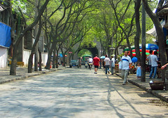 xian streets - china (Russell Scott Images) Tags: streetscenes xian china