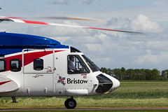 G-CICH S-92, Scone (wwshack) Tags: bristow bristowhelicopters egpt psl perth perthairport perthshire s92 scone sconeairport scotland sikorsky helicopter northseaoilrigsupport offshorehelicopter offshorehelicopters oilrigsupport gcich