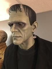 Universal Monsters Life Size Frankenstein and The Mummy (garystrange) Tags: add tags beta frankenstein prop life size replica 11 halloween boris karloff portrait