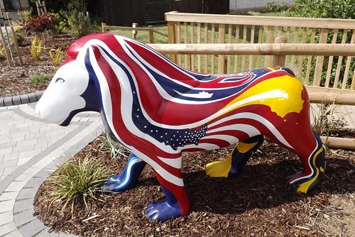 Britannia Lion by Hazel Evans 2011