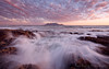 The Pink Before the Storm (Panorama Paul) Tags: paulbruinsphotography wwwpaulbruinscoza southafrica westerncape capetown tablemountain blaauwbergbeach waves beach sunset nikond800 nikkorlenses nikfilters
