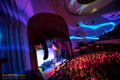 DSC_5671 (capitoltheatre) Tags: thecapitoltheatre dawes thecap thepeak 1071 garciasatthecap garcias wall pattern projection band crowd fans stage jamming music sound artists musicians lights