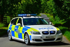 NK61 CHJ (S11 AUN) Tags: durham constabulary bmw 330d 3series touring anpr police traffic car rpu roads policing unit 999 emergency vehicle nk61chj