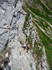 P1120933 (Der Berg-Geyer) Tags: rofan klettersteig achensee