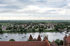 MALBORK 001 (The Gruss) Tags: view widok panorama wieza sky poland polska malbork marienburg nikon d7100 sigma 1835 rzeka river castle zamek