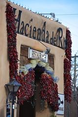 3-093 Hacienda del Rio (megatti) Tags: albuquerque desert haciendadelrio newmexico nm peppers restaurant ristras sign