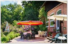 Hotel/Restaurant Eickhof (Don111 Spangemacher) Tags: lüneburgerheide gebäude reisen romantik rhododendren cafe bispingen niedersachsen niederhaverbeck heidekreis heide