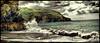 Cornwall - 104 years ago (Janusz Kudlak) Tags: cornwall sea rocks ilovemywife agnieszka myniu pastuch uk beach mengland sony alpha700 vintage landscapes england