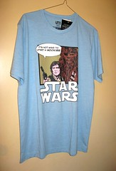 star wars its not wise to upset a wookie han solo and chewbacca comic t-shirt bnwt 2016 2017 (tjparkside) Tags: star wars disney 2016 2017 tshirt t shirt mens comic print printed clothes clothing tshirts shirts han solo chewbacca wookie its wise upset smuggler marvel comics book books