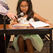 Third Grader Ayanna Jain reads her winning story