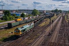 66604 (arkadiusz1984) Tags: 66604 fpl freightliner starogardgdański towarowy