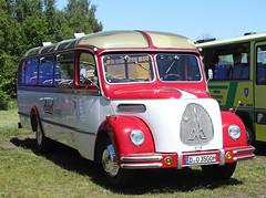 Magirus-Deutz Coach (Schwanzus_Longus) Tags: vilhelmshaven old classic vintage bus vehicle travel coach magirus deutz o3500
