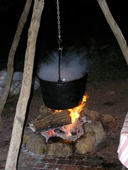 41 Apple Cider (megatti) Tags: applecider christmas cider cooking fire lahaska pa peddlersvillage pennsylvania pot