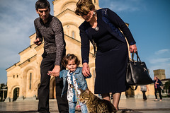 _DSF9854.jpg (Dave Cavanagh Street) Tags: georgia tbilisi child toddler cat parents protect care love pet holdhands fuji xt2 fuji23mmf14 fuji23mm sunny outdoors outside travel wander lowangle street streetphotography moment