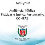 Audiência Pública sobre Práticas e Justiça Restaurativa - COMPAZ