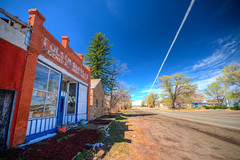 The Ghost Town of Folsom, New Mexico (ap0013) Tags: ghosttown folsomnewmexico nm folsom ghost town abandoned desert west western hdr