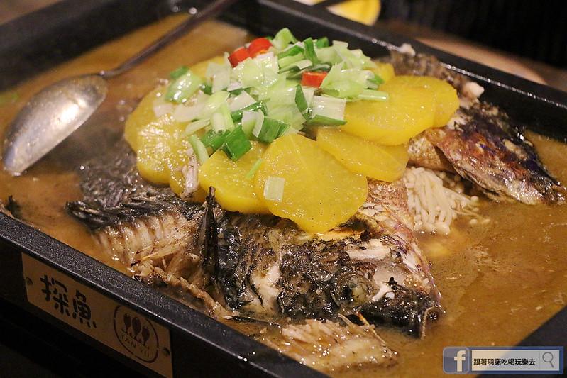 中國大陸人氣烤魚登台探魚台中公益店147