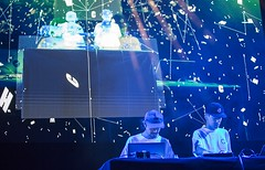 "Nosaj Thing and Daito Manabe - Sonar 2017 - Sabado - 3 - M63C6281 • <a style=""font-size:0.8em;"" href=""http://www.flickr.com/photos/10290099@N07/35258345781/"" target=""_blank"">View on Flickr</a>"