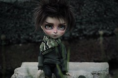 New boy ♥ (Loony-Doll) Tags: pullip isul fc isulfc isulcustom custo custom customisé ronnikbc makeup mio makeitown wig furwig eyechips eyes doll dolls groove