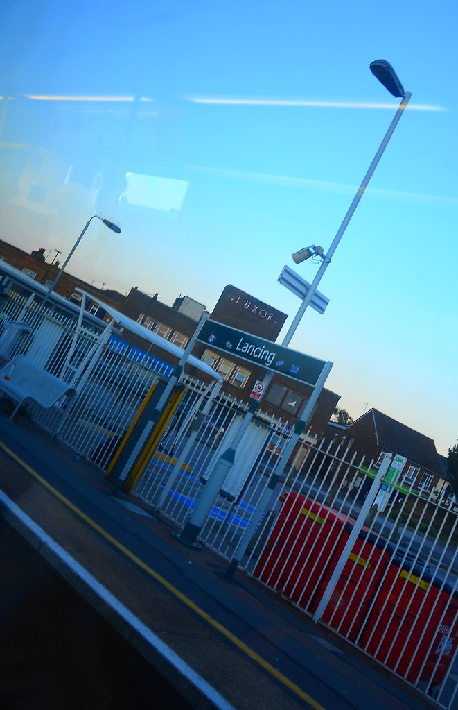 Lancing station, West Sussex