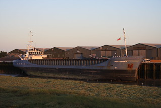 WESTEWIND - General Cargo Ship - at Rye Wharf,Rye Harbour,East Sussex,UK