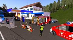 BMA Tankstelle South (feuerwehrmeisterbastler) Tags: bmz brandbekämpfung brandeinsatz bvd feuerwehr freiwilligefeuerwehr hlf1 meisterbastler secondlife