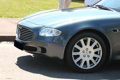 Maserati Quattroporte V nose (macadam67) Tags: rotary club sélestat alsace tanzmatten promenade voituresanciennes voituressportives maserati quattroporte italian