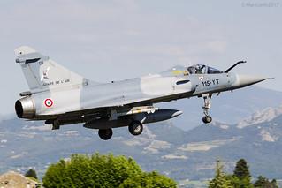 French Air Force, Dassault Mirage 2000C, 124 / 115-YT.