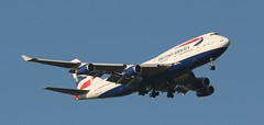 G-BNLK BA 747-400 Colnbrook 210117 (kitmasterbloke) Tags: colnbrook heathrow lhr approach landing undercarriage gear descend aircraft aviation airliner outdoor transport uk