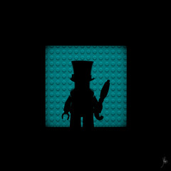 Shadow (354/100) - The Penguin (Ballou34) Tags: 2017 7dmark2 7dmarkii 7d2 7dii afol ballou34 canon canon7dmarkii canon7dii eos eos7dmarkii eos7d2 eos7dii flickr lego legographer legography minifigures photography stuckinplastic toy toyphotography toys nanterre îledefrance france fr 7d mark 2 ii eos7d stuck plastic puteaux blackwhite light shadow photgraphy enevucube minifigure 100shadows batman dccomics dc comics super heroes gotham tlbm the movie penguin cobblepot hat umbrella