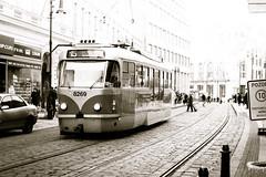 Prague Street Car 8269 (Wade Brooks) Tags: 2017 feb germanytrip prague streetcar canon m5