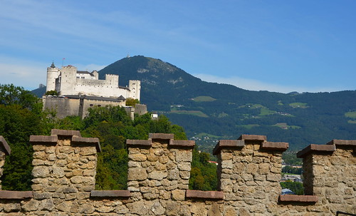 Hohensalzburg beyond the fence