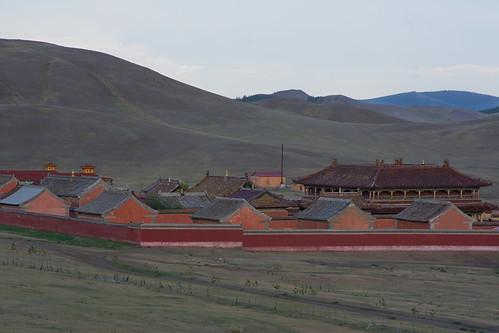 Mongolia - Monastero di Amarbayasgalant