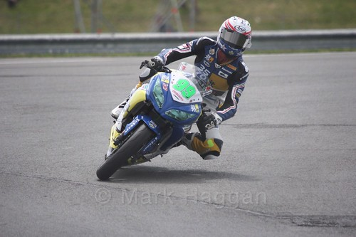 Paolo Grassia in World Supersport 300 at Donington Park, May 2017
